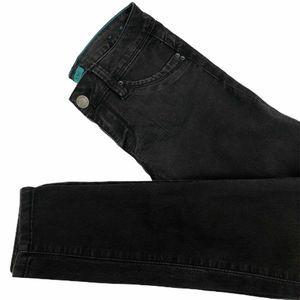 YMI Womens Slim Skinny Jeans Black Stretch 7